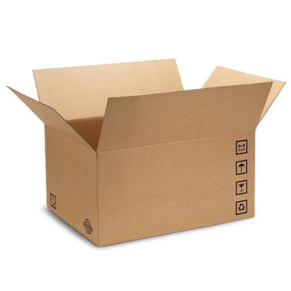 scatole di cartone di grandi dimensioni