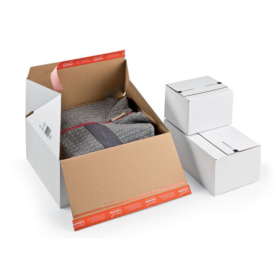 scatola ecommerce vestiti