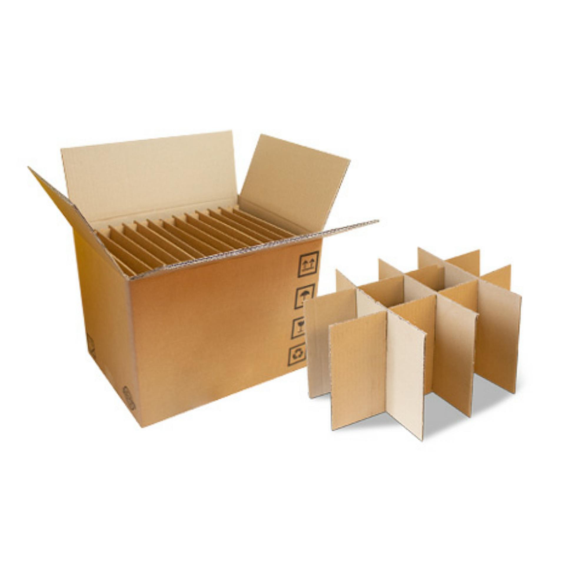 scatola trasporto stoviglie