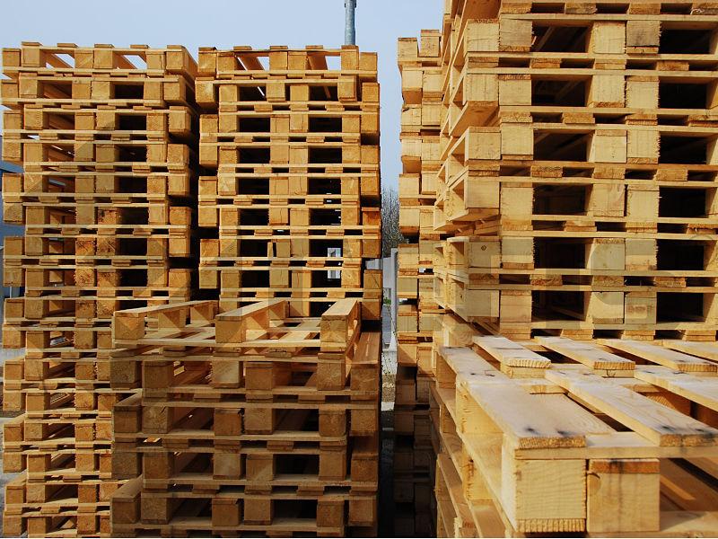 pallet europei scatole spedizione