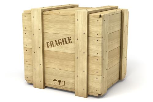 box imballo legno fragile