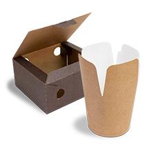 Contenitori alimentari in cartone