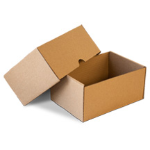 Scatole cartone con coperchio