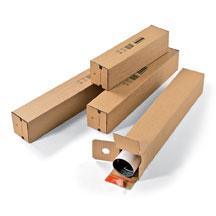 Scatole tubolari per spedizioni