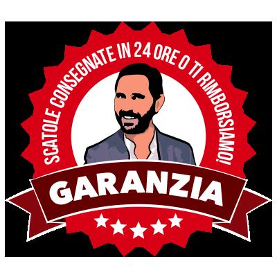 Garanzia - Scatole consegnate in 24h, o è gratis