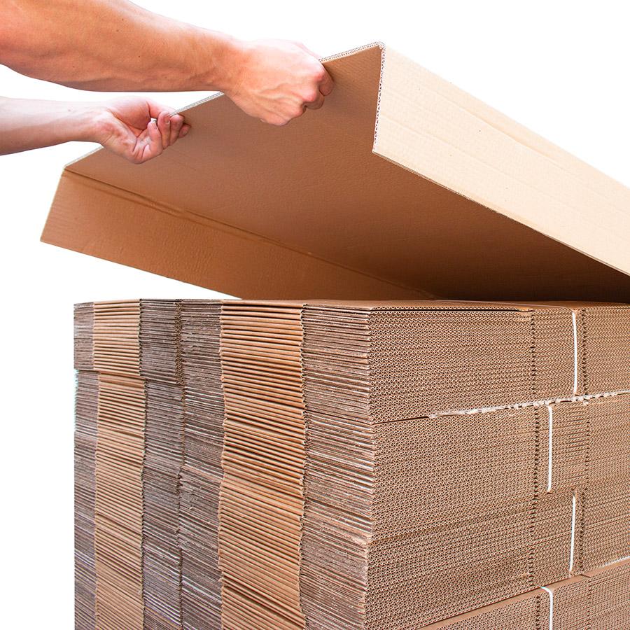 Bancale alzata foglio cartone