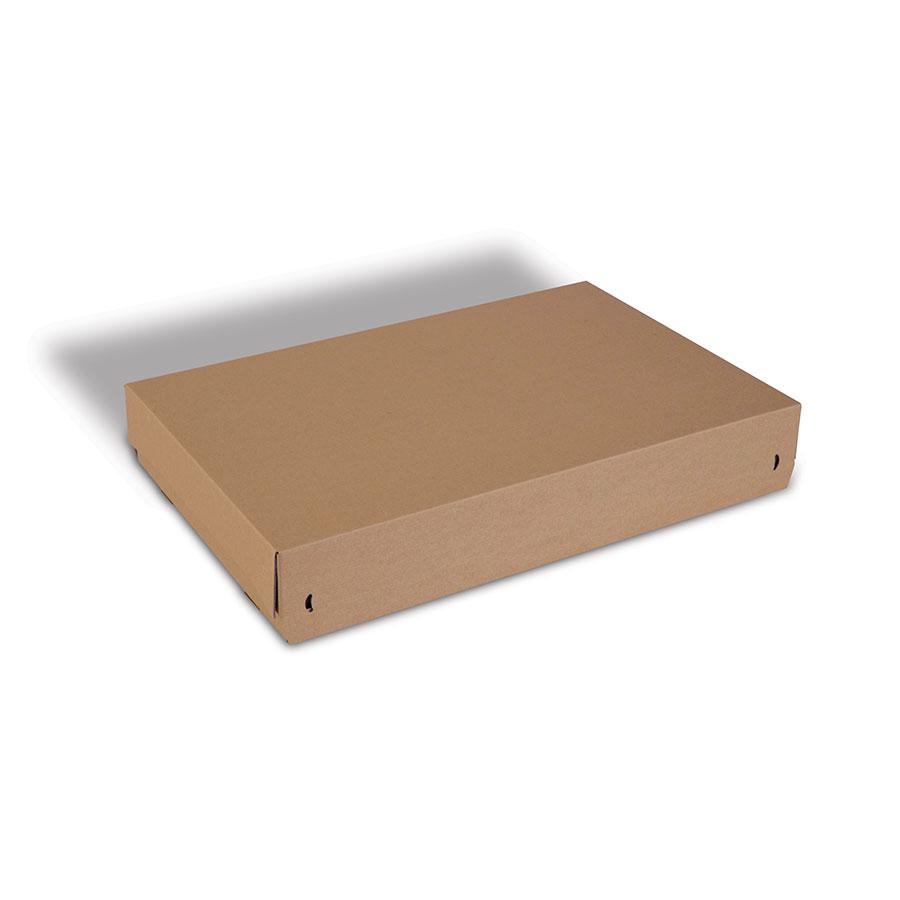 Scatole con chiusura adesiva