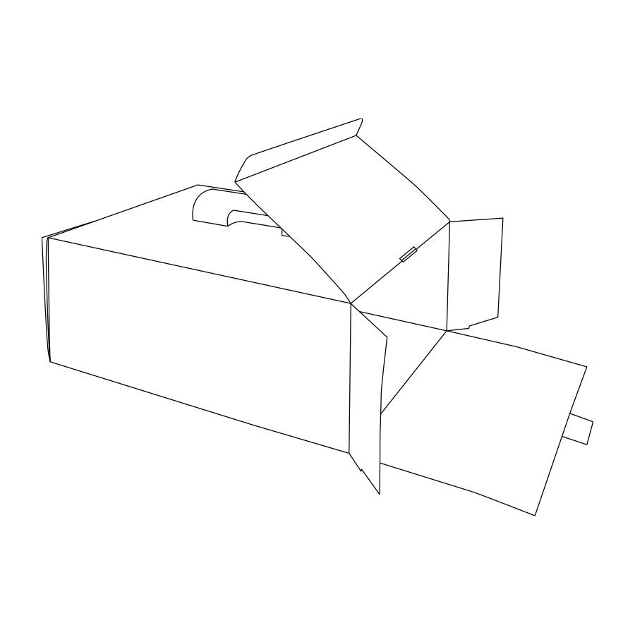 Disegno scatola Cadeaux
