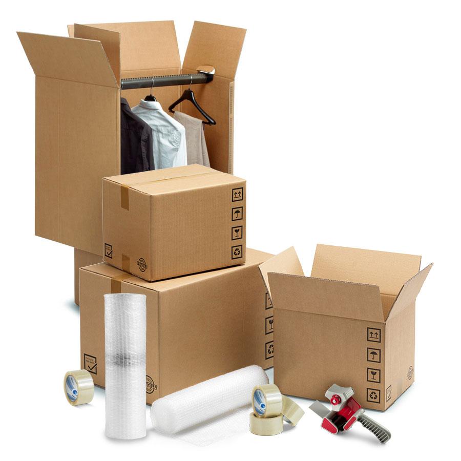 Kit scatole trasloco 180 mq