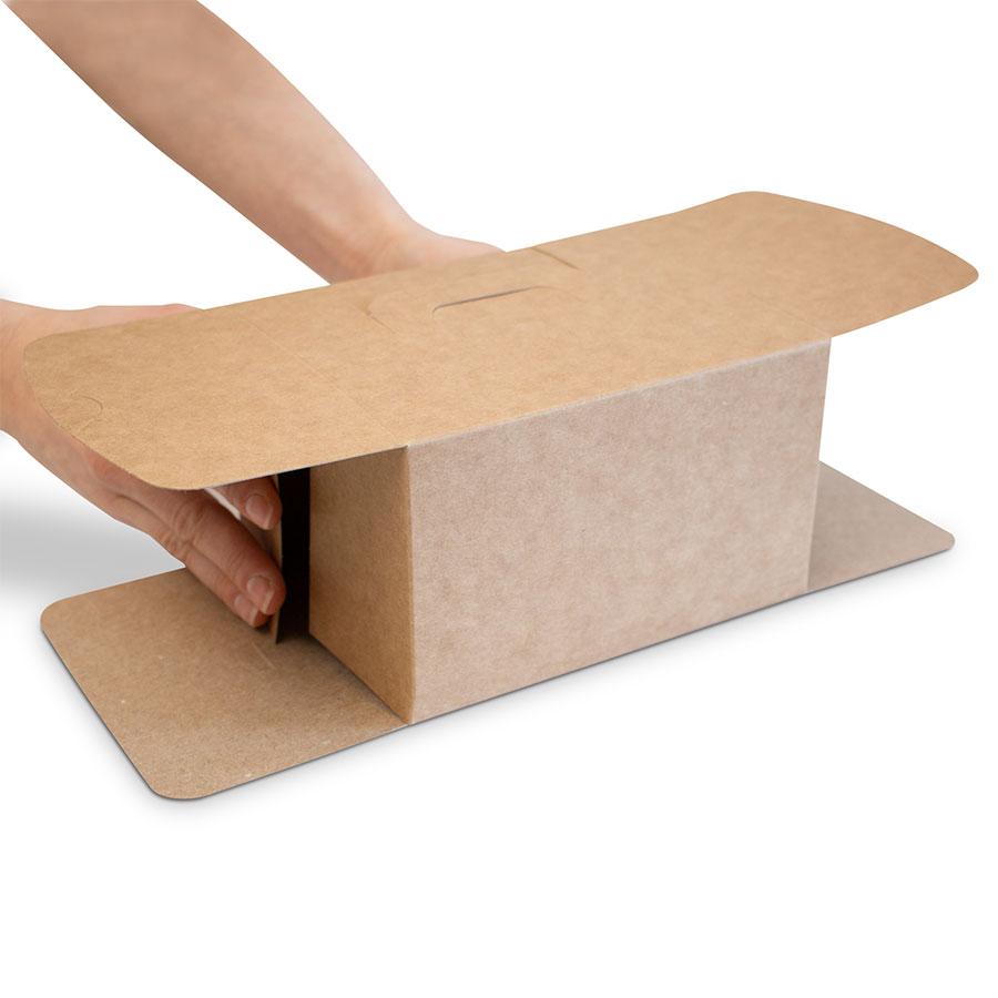 Scatola take away cadeaux montaggio 2