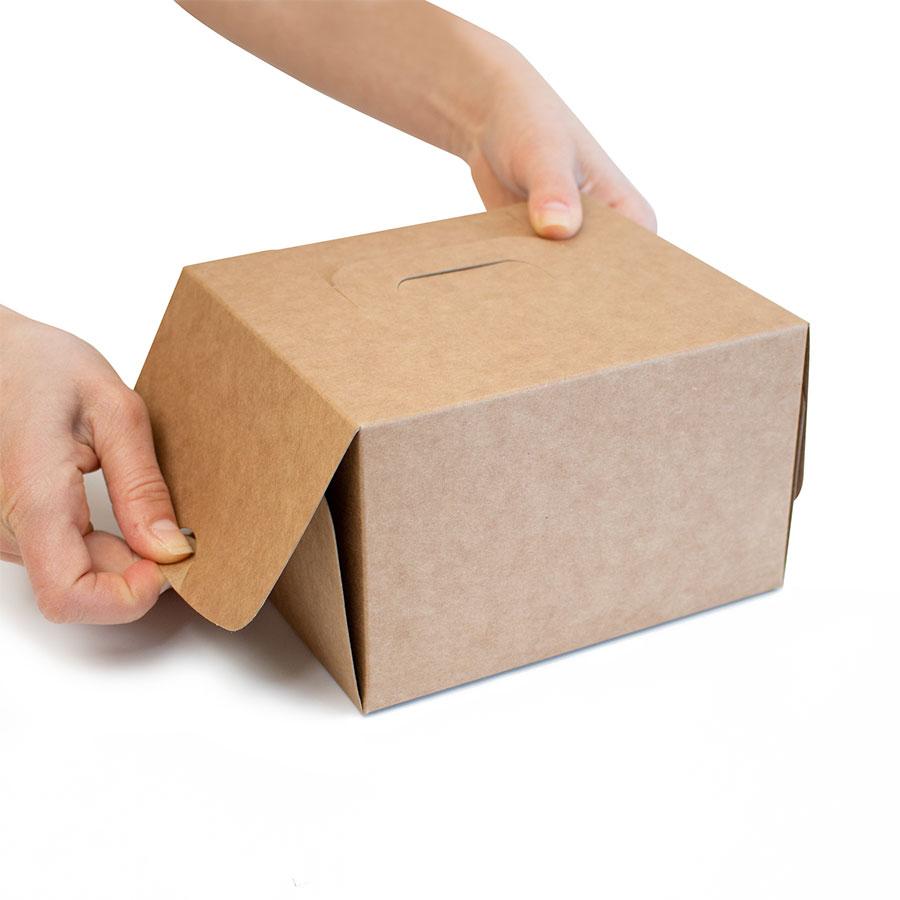 Scatola take away cadeaux montaggio 3