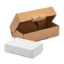 Scatole di cartone con chiusura rinforzata