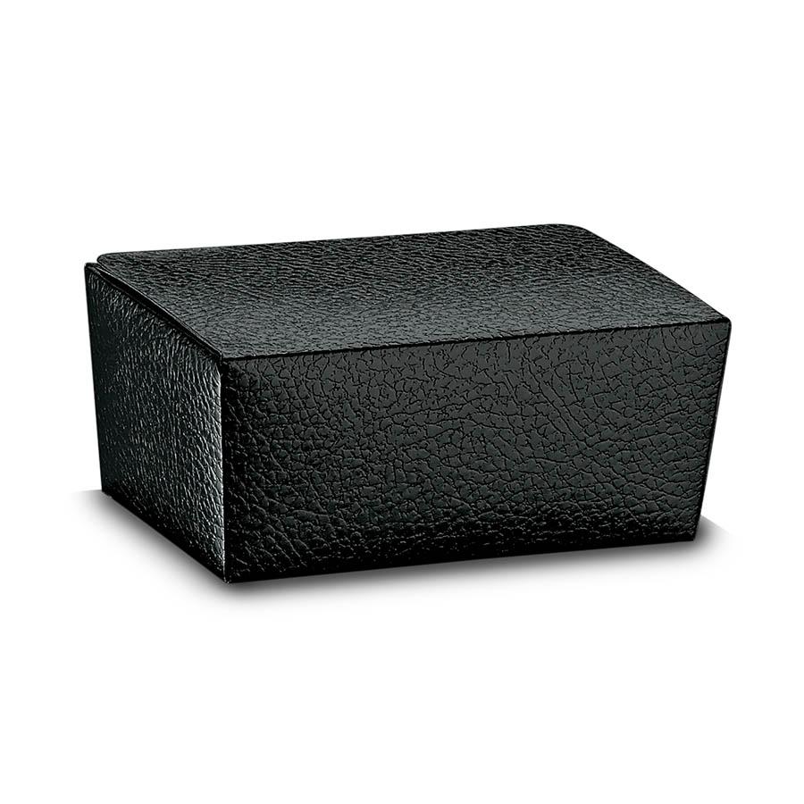 scatola ballottin nera pelle