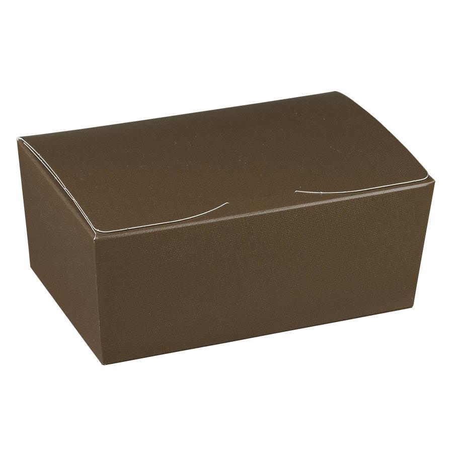 scatola ballottin lino marrone