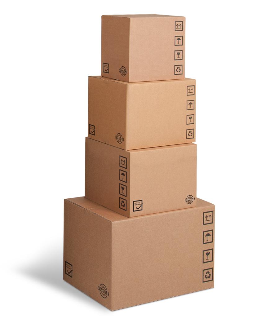 scatole di cartone a 3 onde semprepronte