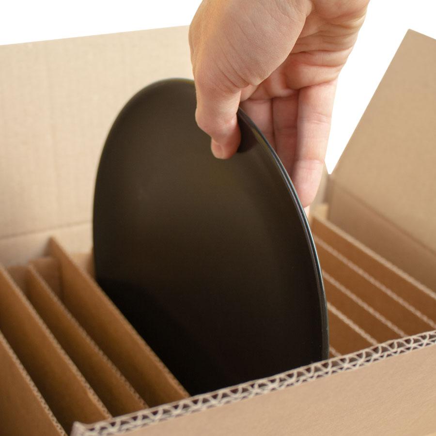 scatola trasporto piatti con alveare