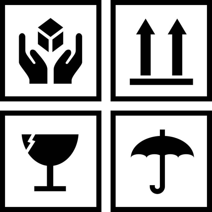 simboli scatole