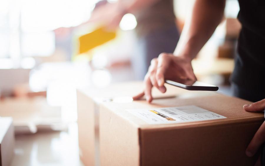 scatole per spedizione postale