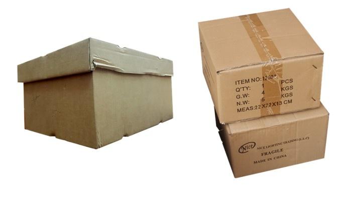 scatole per magazzino