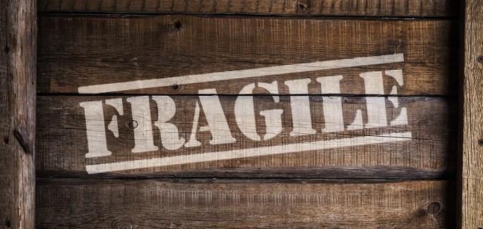 Spedizione di un pacco fragile