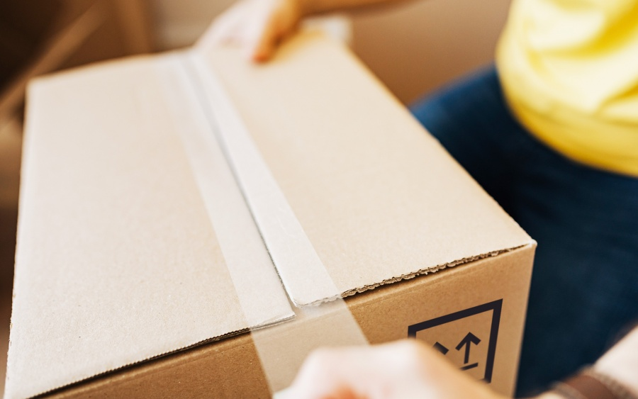 scatola cartone altezza variabile