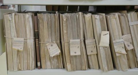 Scatole di cartone per archivi