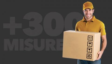 Siamo partiti con una e ora i formati di scatole sono oltre 300!