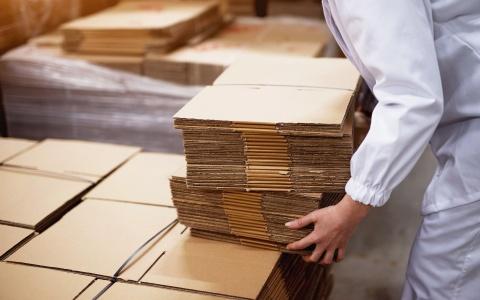 bancali scatole cartone imballaggio