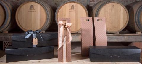 scatola cartone valigetta porta bottiglia vino
