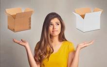 scatola bianca o avana